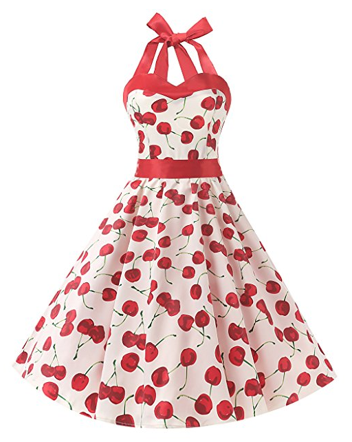 robe-cerise-rockabilly-retro