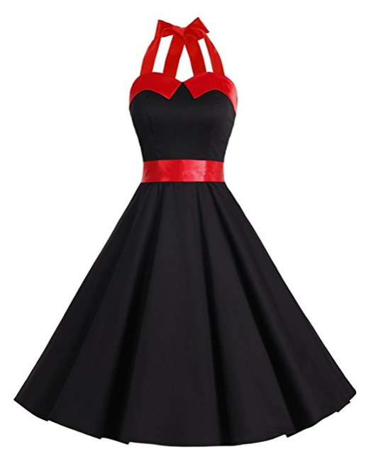 robe-cocktail-vintage-rockabilly