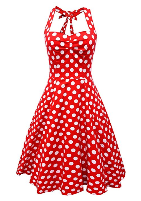 robe-rockabilly-a-pois